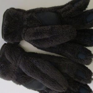 ec1503271 North Face Brown Osiris Touch Screen Gloves Small